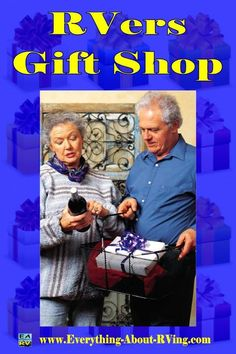 Welcome to the EARV RVers Gift Shop.  If you are looking for gifts for the RVer in your life; this has them.  Read More: http://www.everything-about-rving.com/rvers-gift-shop.html