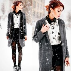 Luanna Perez edgy for winter