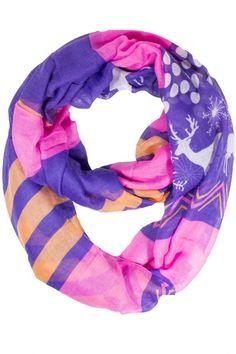 Snowflake Winter Scarf #scarvesdotnet