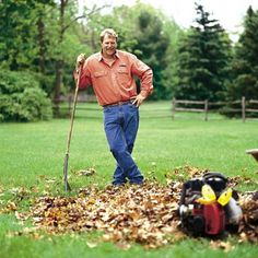 Fall Landscaping Checklist |   TOH landscape contractor Roger Cook's top tips for fall yard cleanup