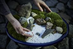 """Guests at The Ritz-Carlton, Kyoto can enjoy a fun and creative """"Japanese Zen Garden Making"""" Activity and discover the art of dry landscape garden with our master gardener."""