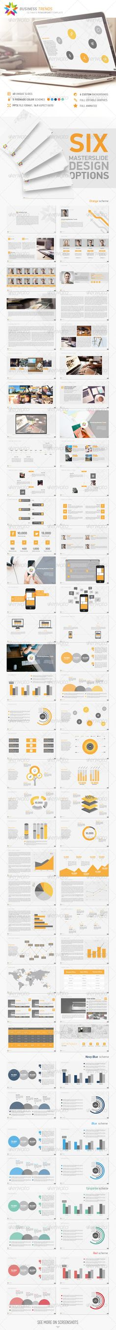 Business Trends PowerPoint Template