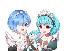 Rem from Re:Zero and Angela From Mobile Legends 😘 # Rem Re Zero, Moba Legends, Ninga Turtles, Champions League Of Legends, Mobile Legend Wallpaper, The Legend Of Heroes, Anime Films, Anime Artwork, Kawaii Anime
