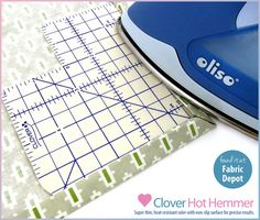 Products We Love: The Clover Hot Hemmer from Fabric Depot | Sew4Home