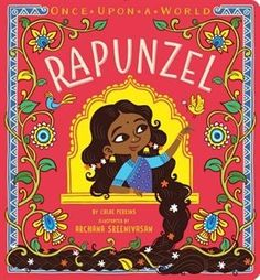 The classic story of Rapunzel gets a fresh twist in this vibrant Indian spin on the beloved fairy tale! Once upon a time, there was a girl with long, long hair, who lived in a tall, tall tower... The classic tale of Rapunzel gets a fresh twist in this third book of a brand-new board book series, Once Upon a World. With India as the backdrop, and vibrant artwork from illustrator Archana Sreenivasan, Rapunzel is still the same girl who lets down her beautiful hair—but she's totally ...