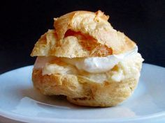 Hungarian cream puffs are so amazing and splendid, much better than profiteroles or éclairs; I always make them for Christmas. Hungarian Cookies, Hungarian Desserts, Hungarian Cuisine, Hungarian Recipes, Hungarian Food, Lithuanian Food, German Recipes, Eclairs, Profiteroles