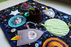 Play mat, activity book, busy board, advent calendar by krokozyablik Baby Sensory, Sensory Activities, Infant Activities, Book Activities, Handmade Baby Gifts, Handmade Toys, Personalized Gifts, Activity Mat, Busy Board
