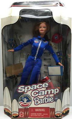 (TAS032417) - 1998 Mattel Special Edition Space Camp Barbie - U.S. Space Camp