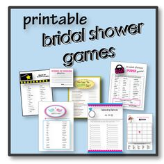 Printable bridal shower games ---OMG Hobbs Hobbs McCormack, there is a game where you use toilet paper to make a dress on a guest and which ever groups is the best wins, we must do this at both of our bridal showers lmao Bridal Shower Activities, Printable Bridal Shower Games, Wedding Shower Games, Wedding Games, Bridal Shower Gifts, Bridal Showers, Shower Party, Wedding Ideas, Bridal Games