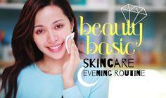 BEAUTY BASIC / Skin Care : Evening Routine #makeup #makeuptest #makeupartist #makeupaddict #makeuplover #makeupjunkie #wakeupandmakeup #makeupforever #makeuptutorial #beautyblog #hudabeauty #naturalbeauty #beauty #beautyhacks #mua #cosmetics #skincare