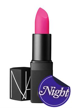 """""""This is the mattest, pinkest, chic-est lipstick of them all. My obsession with women like Elsa Schiaparelli and Isabella Blow runs insanely deep — they were two of the first women I learned about in fashion, before Coco Chanel. Original, unparalleled, creative talent. Oh right, I forgot, we're supposed to be talking about lipstick!""""    Nars Semi Matte Lipstick in Schiap"""
