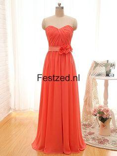 5a78ea585d638c 8 beste afbeeldingen van Chiffon Galajurken - Elegant dresses ...