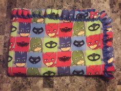 PJ Masks No-Sew Fleece Throw Blanket