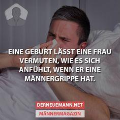 Männergrippe #derneuemann #humor #lustig #spaß