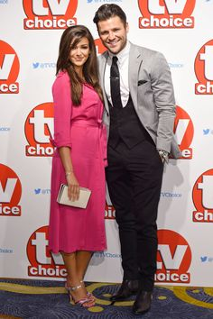Mark Wright and Michelle Keegan make a *stunning* couple in their first post-wedding red carpet appearance. Celebrity Couples, Celebrity Style, Mark Wright, Michelle Keegan, Coronation Street, Post Wedding, Celebs, Celebrities, Marie Claire