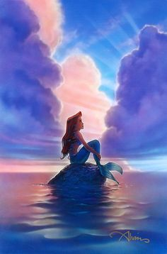 The Little Mermaid - Ariel - John Alvin - World-Wide-Art.com