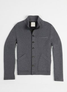 your next grey button-up...