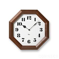 LEMNOS(レムノス)/Riki clock(リキクロック)  八角の時計