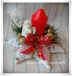 vánoce-svícen hvězda červeno-zlatá (2)