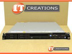 IBM SYSTEM X3550 M3 SERVER TWO X5650 2.66GHZ 16GB 2 X 300GB 10K SAS
