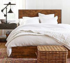 Mustard Bedding, White Bedding, Bedding Sets, Linen Bedding, Bed Storage, Bedroom Storage, Linen Storage, Pottery Barn, Scandinavian Bedding