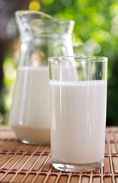Homemade sesame seed milk