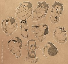 DATTARAJ KAMAT ✤ || CHARACTER DESIGN REFERENCES | Find more at https://www.facebook.com/CharacterDesignReferences if you're looking for: #line #art #character #design #model #sheet #illustration #expressions #best #concept #animation #drawing #archive #library #reference #anatomy #traditional #draw #development #artist #pose #settei #gestures #how #to #tutorial #conceptart #modelsheet #cartoon