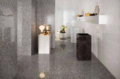 Marvel Terrazzo White, Brick Bevel White <br>Marvel Terrazzo Grey <br>Marvel Carrara Pure, Marvel Nero Marquina