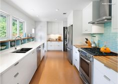 Open Galley Kitchen Designs kitchen , modern galley kitchen create a chic cooking space in