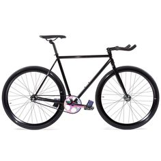 State Bicycle Co Fixed Gear Fixie Single Speed Bike, Ltd Edition Galaxy, 62cm