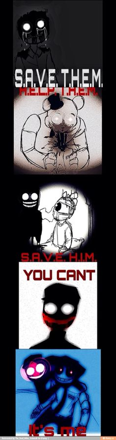 Why do I find this so... just.... augh, this is.... I have no words.  Well, I am a huge fan of FNAF so yeah. ^^