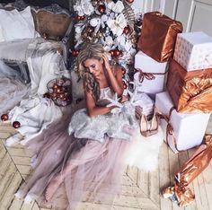 Christmas. Winter. New Year. Christmas Tree. Presents.