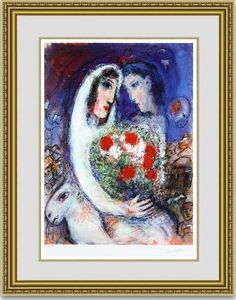 Recommended for Rakuten Free Shipping painting ■ ■ Chagall married ■ choice frame ■ framed write ■ ■ masterpiece famous painting ■ Wall-mounted ■ Art ■ gift gifts: Painting sale of Art Gallery Minami Aoyama