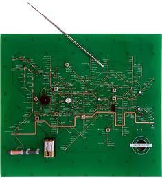 Tube Map Radio by Juri Suzuki