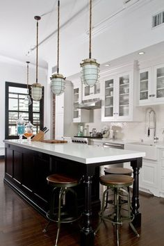 counter and stools