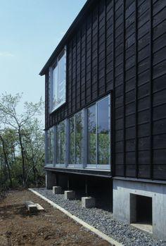 single wall framing alt.  cottage - tsumari - daigo ishii + ruture-scape - 2010 - photo koji fujii