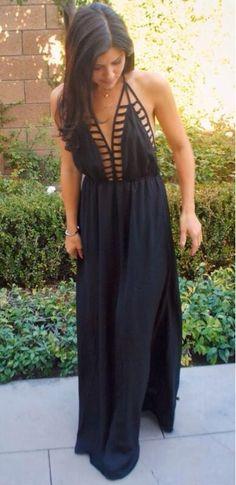 Simple sexy summer dress