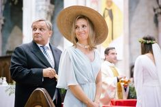 La madre de la novia Mother Of The Bride, Panama Hat, Wedding Styles, Hats, Chanel, Fashion, Vestidos, Templates, Mom Dress