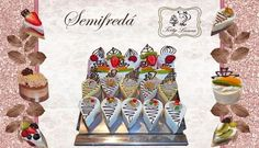 Semifreda- videonávod Mini Cakes, Minion, Cupcakes, Anna, Cupcake, Minions, Cupcake Cakes