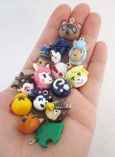 Choose Your Own Animal Crossing New Leaf Charm by egyptianruin, $8.00