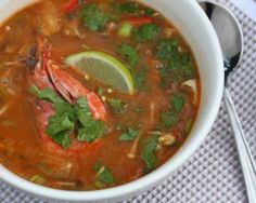 Tom yum in the thermomix!