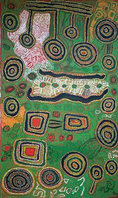 Iyawi Wikilyiri - Pukara Aboriginal Patterns, Aboriginal Painting, Aboriginal Culture, Aboriginal Artists, Dot Painting, Indigenous Australian Art, Indigenous Art, Klimt, Famous Artwork