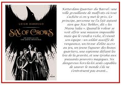 Notre Carnet de Lecture: Six of Crows - tome 1 - Leigh Bardugo