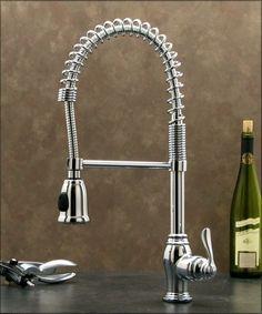 Pull Down Spray Kitchen Sink Faucet