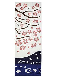 Chirizakura Tenugui | Chirizakura (チリザクラ): Falling sakura blossoms