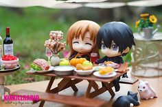 Asuna and Kirito on Thanksgiving Day Asuna, Sword Art Online Figures, Diabolik, Cute Love Pictures, The Ancient Magus, Newborn Baby Dolls, Tokyo Otaku Mode, Anime Figurines, Anime Toys