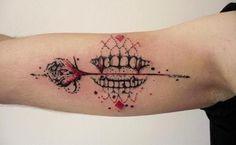 #tattoofriday - Aga Mlotkowska  #tattoo #tatuagem #trashpolka #agamlotkowska