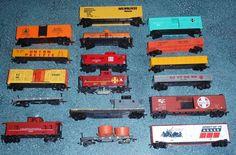 Lot of 17 Vintage HO Scale Train Cars Bachmann Tyco Santa Fe Spirit Of 76 + MORE Train Sets For Sale, Ho Scale Trains, Ebay Auction, Train Car, Model Trains, Santa Fe, Spirit, Cars, Vintage
