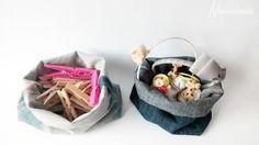 Hilvanandoando handmade : CLASES DE COSTURA: LA CESTA MÁS FACIL DEL MUNDO