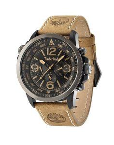 Timberland TBL.13910JSBU/02 - Reloj analógico de cuarzo para hombre, correa de cuero color marrón